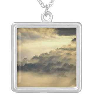 USA, North Dakota, Missouri River Valley. Silver Plated Necklace
