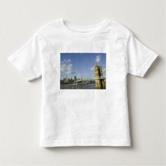 USA, Ohio, Cincinnati: Roebling Suspension 2 Toddler T-Shirt