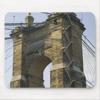 USA, Ohio, Cincinnati: Roebling Suspension Mouse Mat