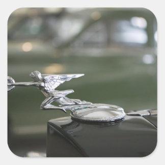 USA, Ohio, Dayton: America's Packard Museum Square Sticker