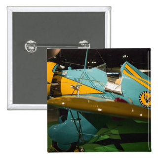 USA, Ohio, Dayton: US Air Force Museum and 2 15 Cm Square Badge