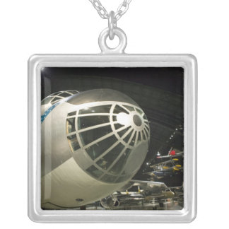 USA, Ohio, Dayton: US Air Force Museum and Silver Plated Necklace