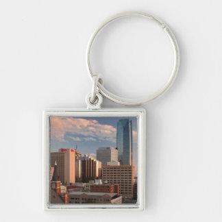 USA, Oklahoma, Oklahoma City, Elevated City Keychains