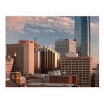 USA, Oklahoma, Oklahoma City, Elevated City Postcard
