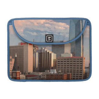 USA, Oklahoma, Oklahoma City, Elevated City Sleeve For MacBooks