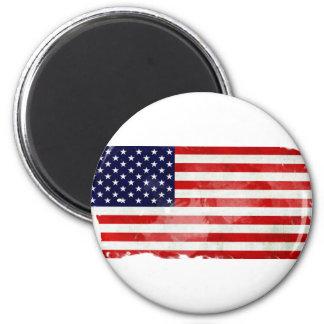 USA OLD FLAG IMÁN DE FRIGORÍFICO