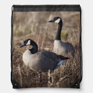 USA, Oregon, Baskett Slough National Wildlife 2 Drawstring Bag