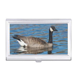 USA, Oregon, Baskett Slough National Wildlife 7 Business Card Holder