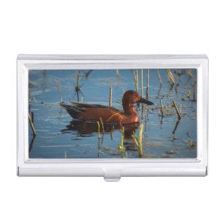 USA, Oregon, Baskett Slough National Wildlife 8 Business Card Holder