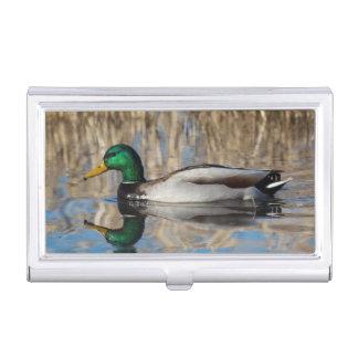 USA, Oregon, Baskett Slough National Wildlife Business Card Holder