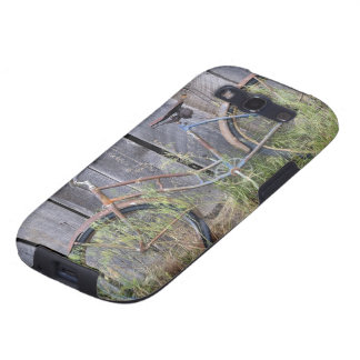 USA, Oregon, Bend. A dilapidated old bike Samsung Galaxy S3 Cover