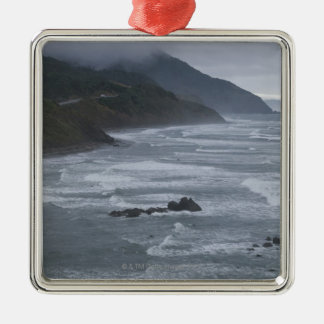 USA, Oregon, Coastline Christmas Ornament