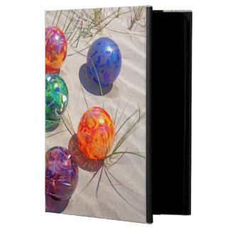 USA, Oregon. Colorful Glass Floats On Sand Dune iPad Air Case