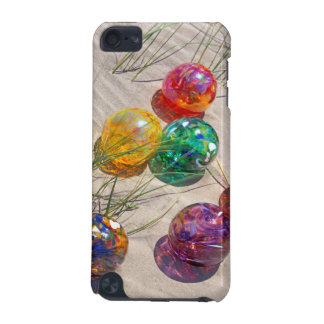 USA, Oregon. Colorful Glass Floats On Sand Dune iPod Touch 5G Cases