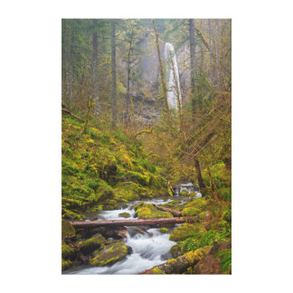 USA, Oregon, Columbia Gorge Canvas Print