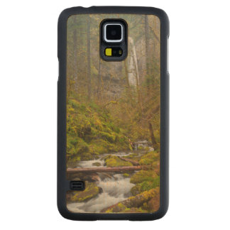 USA, Oregon, Columbia Gorge Carved Maple Galaxy S5 Case