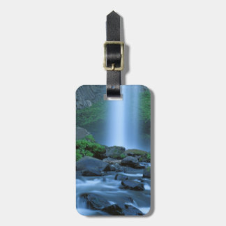 USA, Oregon, Columbia Gorge, Latourell Falls Luggage Tag