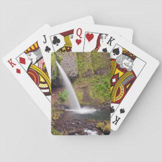 USA, Oregon, Columbia River Gorge 4 Playing Cards