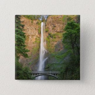 USA, Oregon, Columbia River Gorge, Multnomah 15 Cm Square Badge