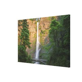 USA, Oregon, Columbia River Gorge, Multnomah Canvas Print
