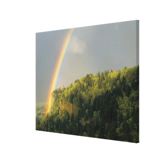 USA, Oregon, Columbia River Gorge National 2 Canvas Print