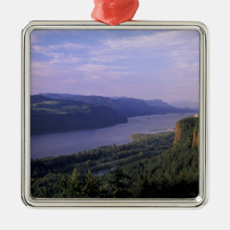 USA, Oregon, Columbia River Gorge National 4 Christmas Ornament