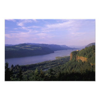 USA, Oregon, Columbia River Gorge National 4 Photo Print