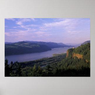 USA, Oregon, Columbia River Gorge National 4 Poster