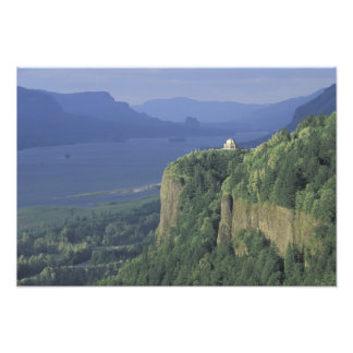 USA, Oregon, Columbia River Gorge NSA. View of Photograph