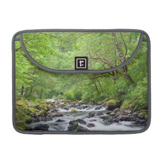 USA, Oregon, Columbia River Gorge, Tanner Creek 4 Sleeve For MacBook Pro