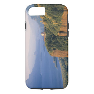 USA, Oregon, Columbia River. Sunset at Crown iPhone 8/7 Case