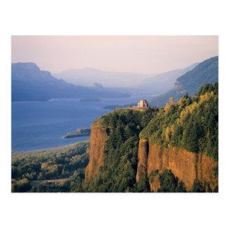 USA, Oregon, Columbia River. Sunset at Crown Postcard