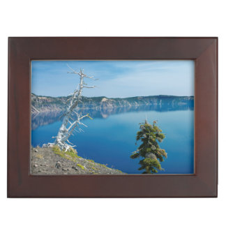 USA, Oregon, Crater Lake National Park 4 Keepsake Box