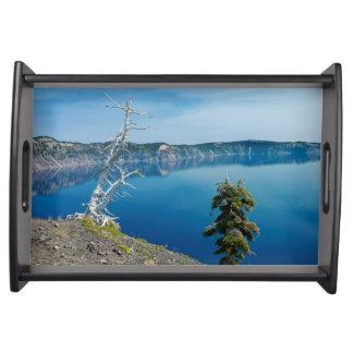 USA, Oregon, Crater Lake National Park 4 Serving Tray