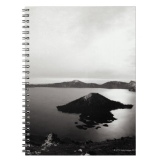 USA, Oregon, Crater Lake, Wizard Island, Notebooks