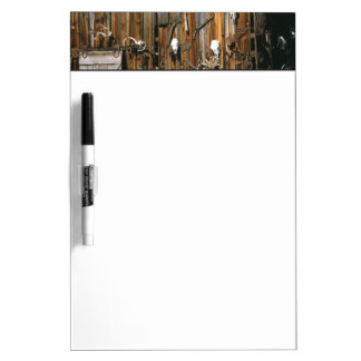 USA, Oregon, Harney County. Old livery stable Dry-Erase Boards