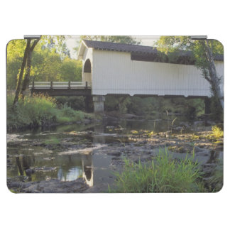 USA, Oregon. Harris covered bridge over Marys iPad Air Cover