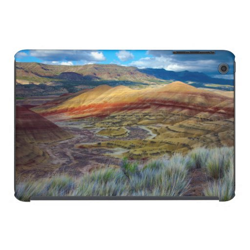 USA, Oregon. Landscape Of The Painted Hills iPad Mini Cases