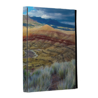 USA, Oregon. Landscape Of The Painted Hills iPad Case