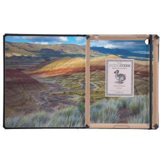 USA, Oregon. Landscape Of The Painted Hills iPad Folio Case