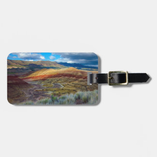 USA, Oregon. Landscape Of The Painted Hills Luggage Tag