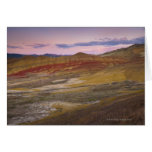 USA, Oregon, Mitchell, Painted Hills during Card
