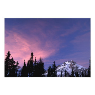 USA, Oregon, Mount Hood from Timberline Photo Art