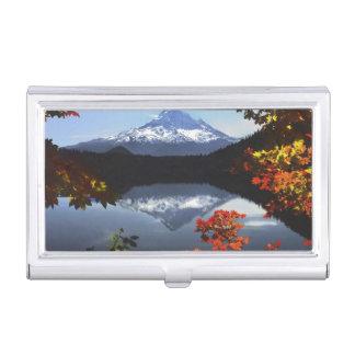 USA, Oregon, Mt. Hood National Forest. Business Card Holder
