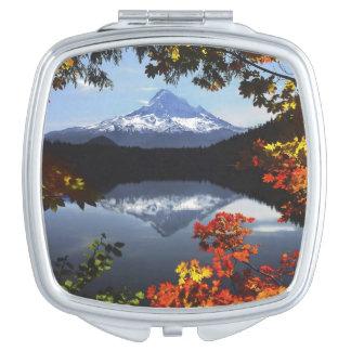 USA, Oregon, Mt. Hood National Forest. Makeup Mirrors