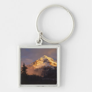 USA, Oregon, Mt. Hood National Forest. Rolling Key Ring