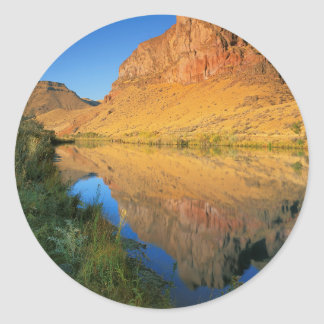 USA, Oregon, Owyhee River Canyon Classic Round Sticker