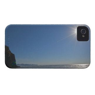 USA, Oregon, Pacific City, sun and beach Case-Mate iPhone 4 Cases