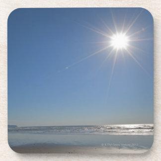 USA, Oregon, Pacific City, sun and beach Coaster