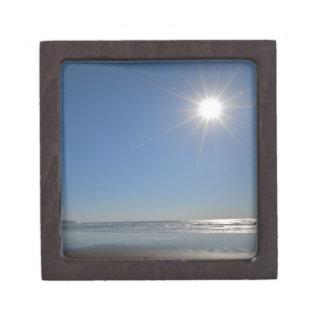 USA, Oregon, Pacific City, sun and beach Premium Gift Boxes